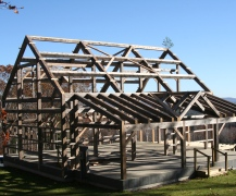 Antique Timber Frame Barn
