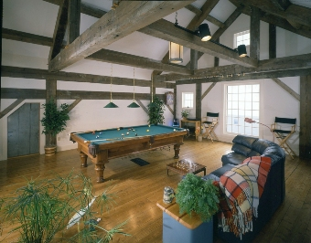 Antique Timber Frame House