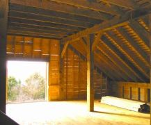 Martha's Vineyeard Barn Hay Loft