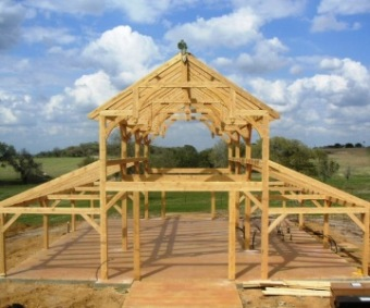 Post and Beam Timber Frame Barn