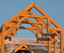 Modified Hammer Beam Truss