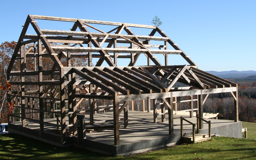 Timber Frame Barn Homes