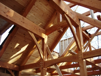 Fancy Douglas Fir Timber Beams