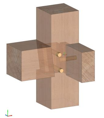 Shouldered Mortise and Tenon
