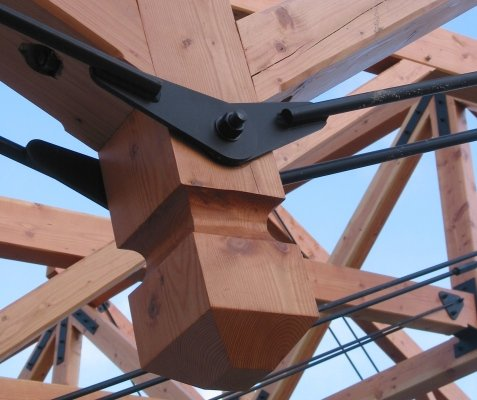 Index of /Web-Photos/Timber-Frame-Joinery-connections/Wood and Steel