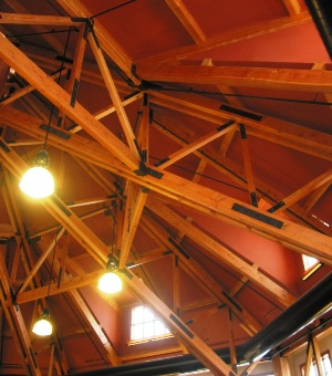 Double Corded Timber and Steel Truss