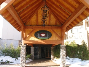Timber Frame Porte Cochere