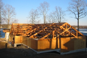 Timber Wood Truss