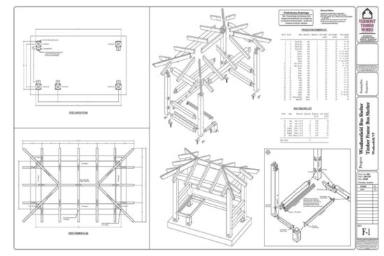 Bus Stop Shelter Plans : Sanding wood filler porch plans bus shelter