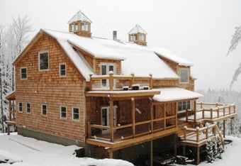 Gambrel Timber Frame Home