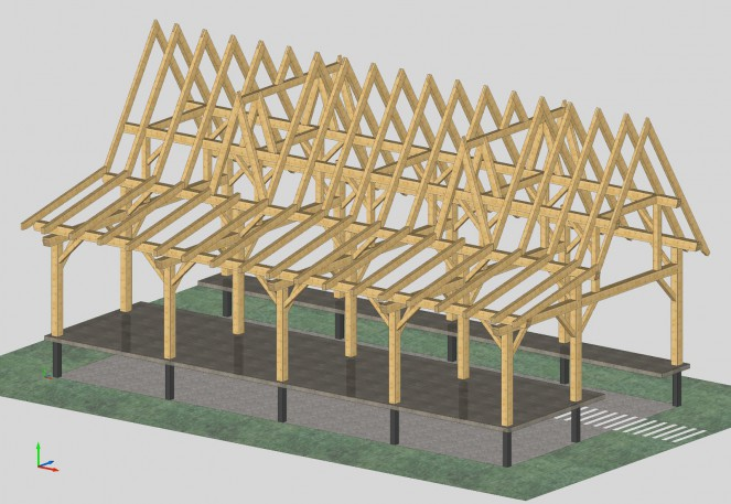 Timber-Frame-Safari-Load-Platform