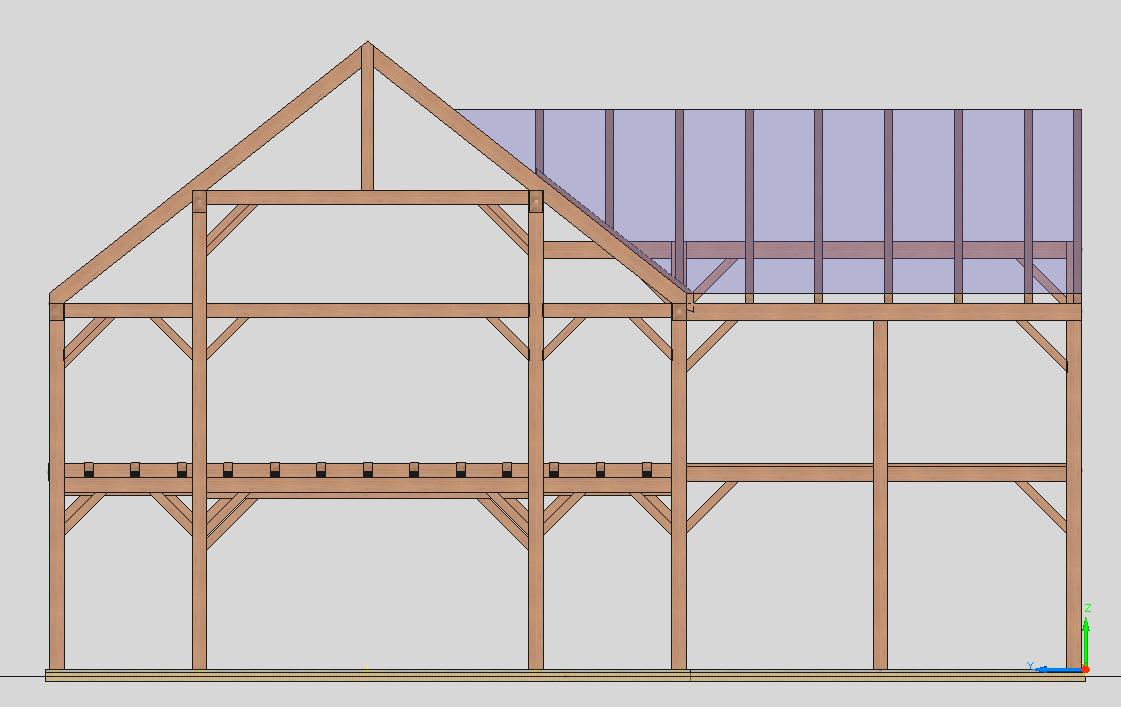 Dutch barn concept with a modern twist