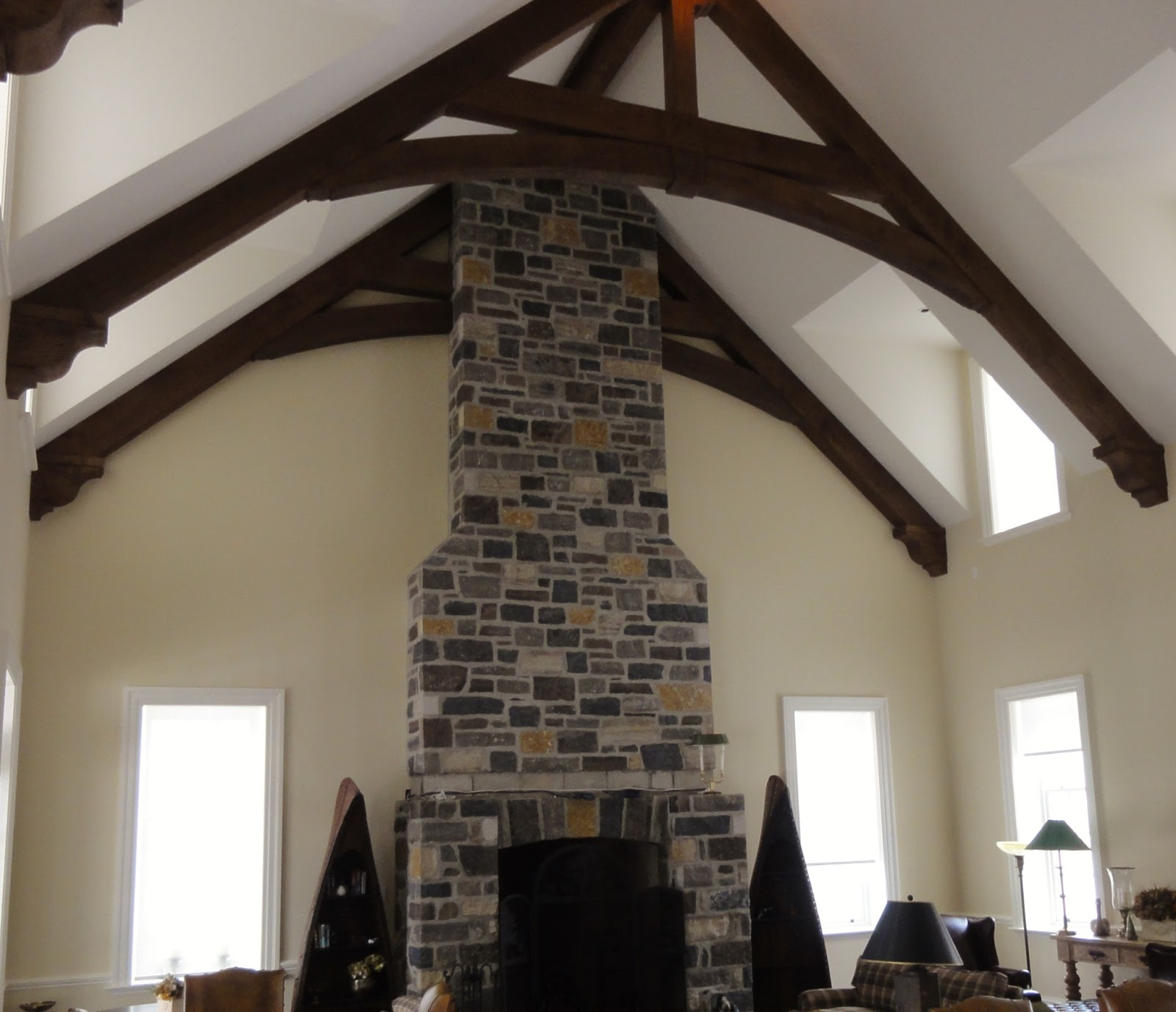 timber-truss-fireplace-stone
