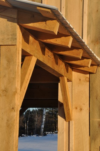 Barn Roof Rafters