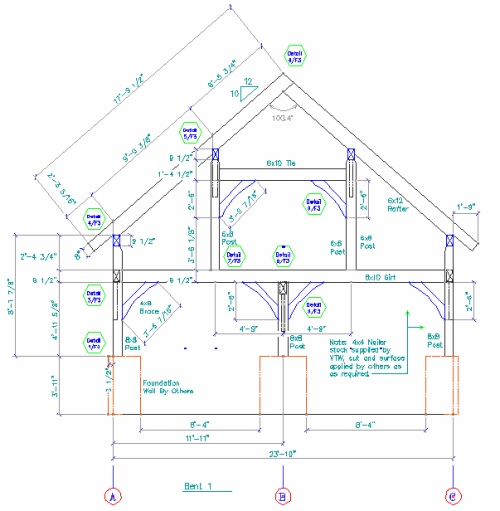 Timber Frame Garage – Post And Beam Garage Plans