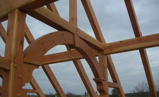 Arched Beam Barn