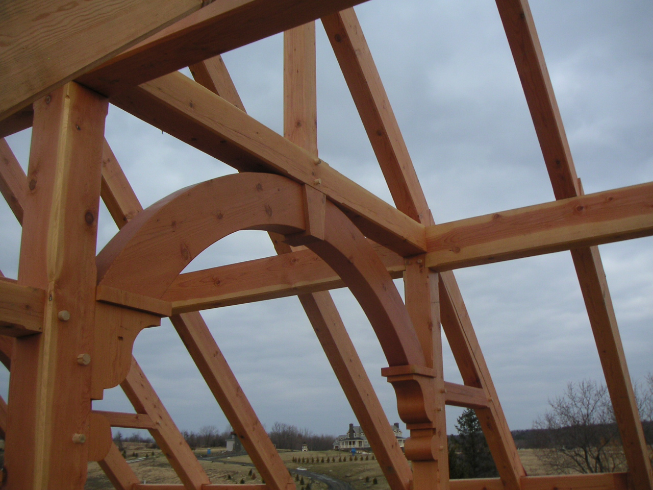 Post Amp Beam Barn Traditional Joinery