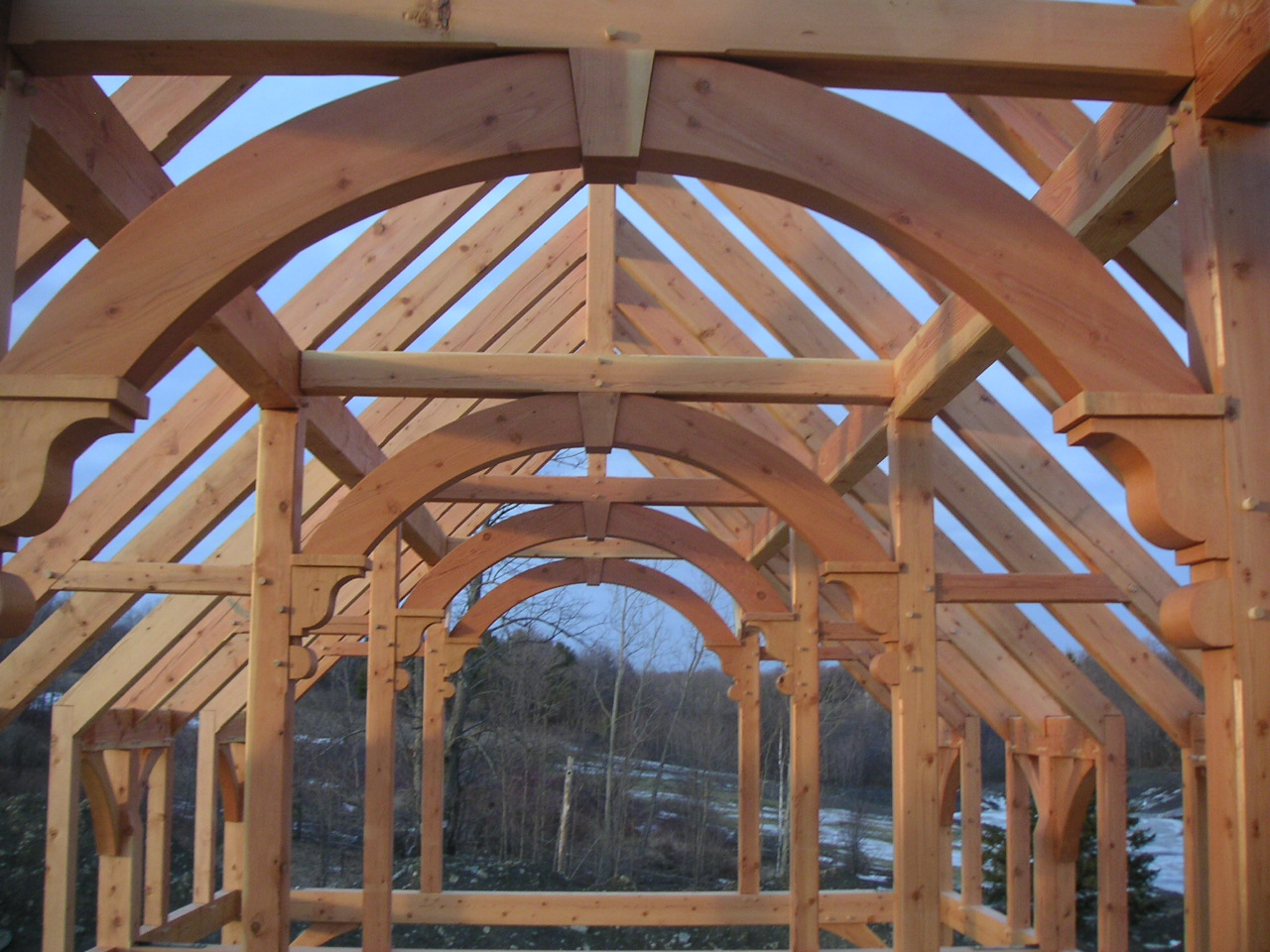 Post beam barn traditional joinery for How to build a timber frame house