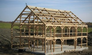 Timber Frame Barns Amp Post And Beam Barns