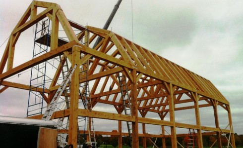 Gambrel Barn Frame Post Amp Beam Construction
