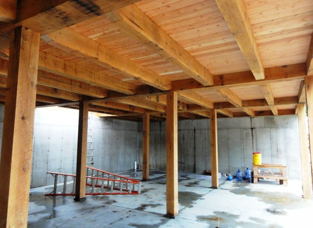 Post Amp Beam Barn New England Timber Frame