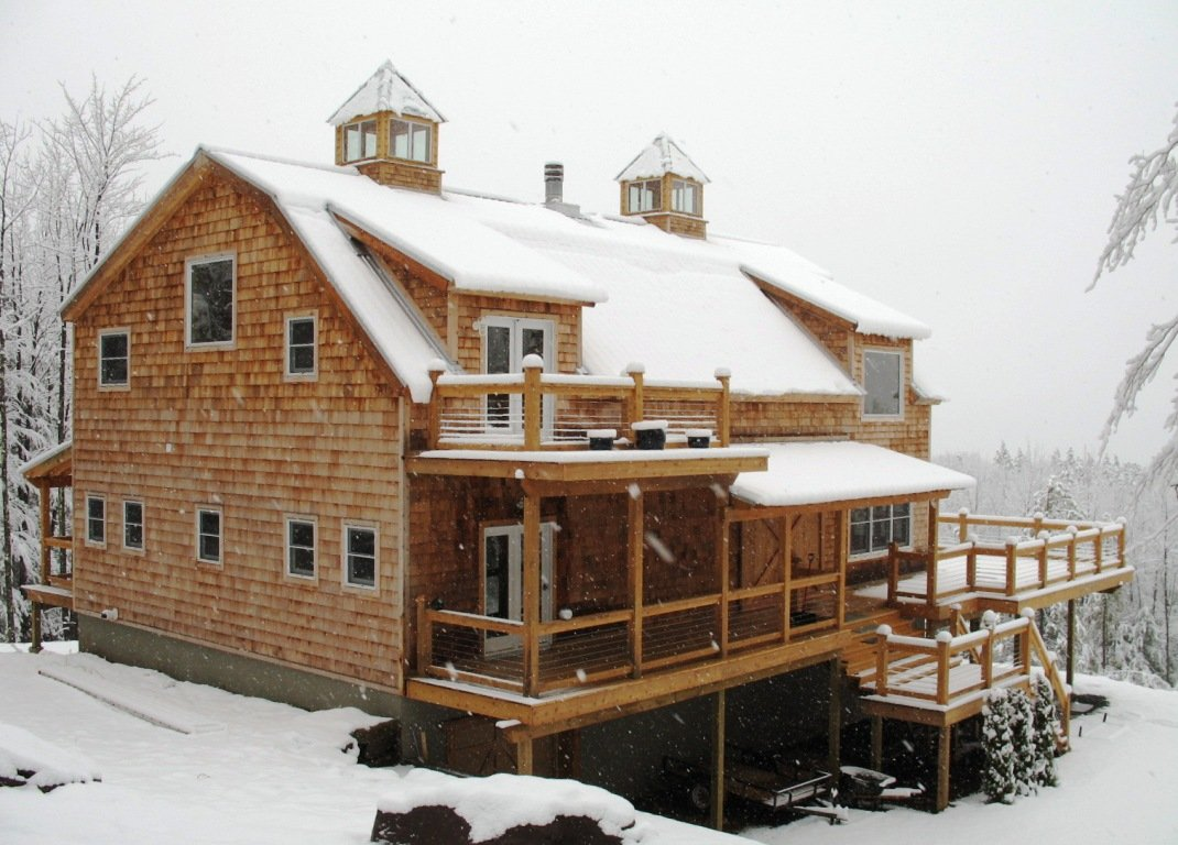 explore the home exterior - Timber Frame Barn Home Plans