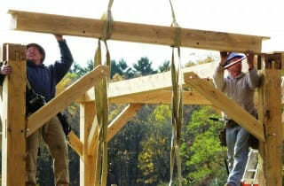 Timber Beam Assembly