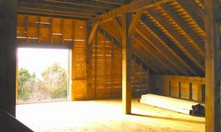Post & Beam Hay Loft