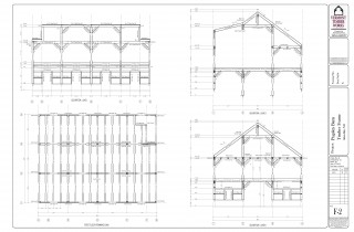 Framing Plans for the New Hampshire Pugsley Barn