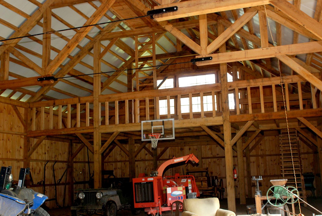 Traditional Timber Frame Barn