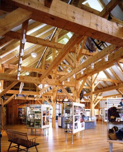 Timber Barn Interior