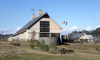 Timber Frame Barn, Welcome Center and Mini-Museum