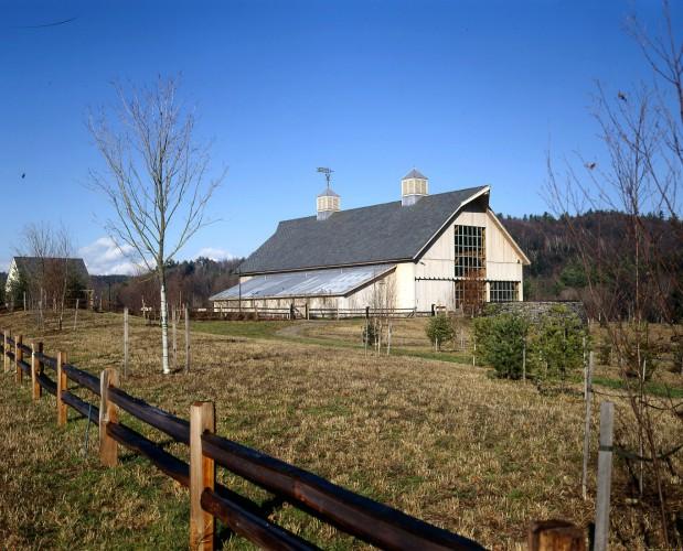 Vermont Post & Beam Barn