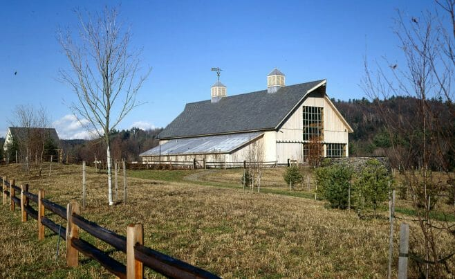 Vermont Post & Beam Barn