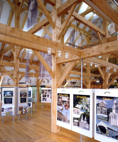 Hand Hewn Timber Frame