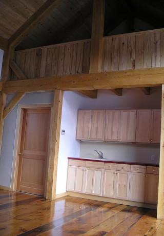 Timber Frame Barn Interior
