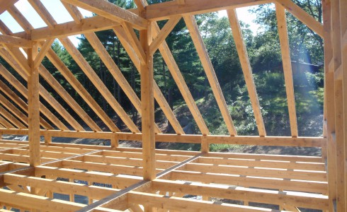 Post & Beam Barn with Rafter System