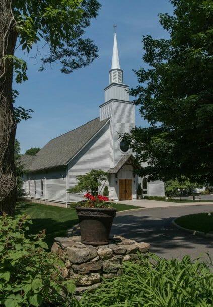 Exterior of Saint Patrick's Church