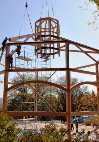 New Catholic Seminary Chapel Construction