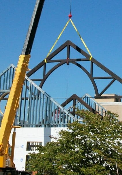 Timber Truss Flying