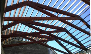Modified Scissor Trusses