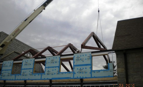 Placing Timber Truss
