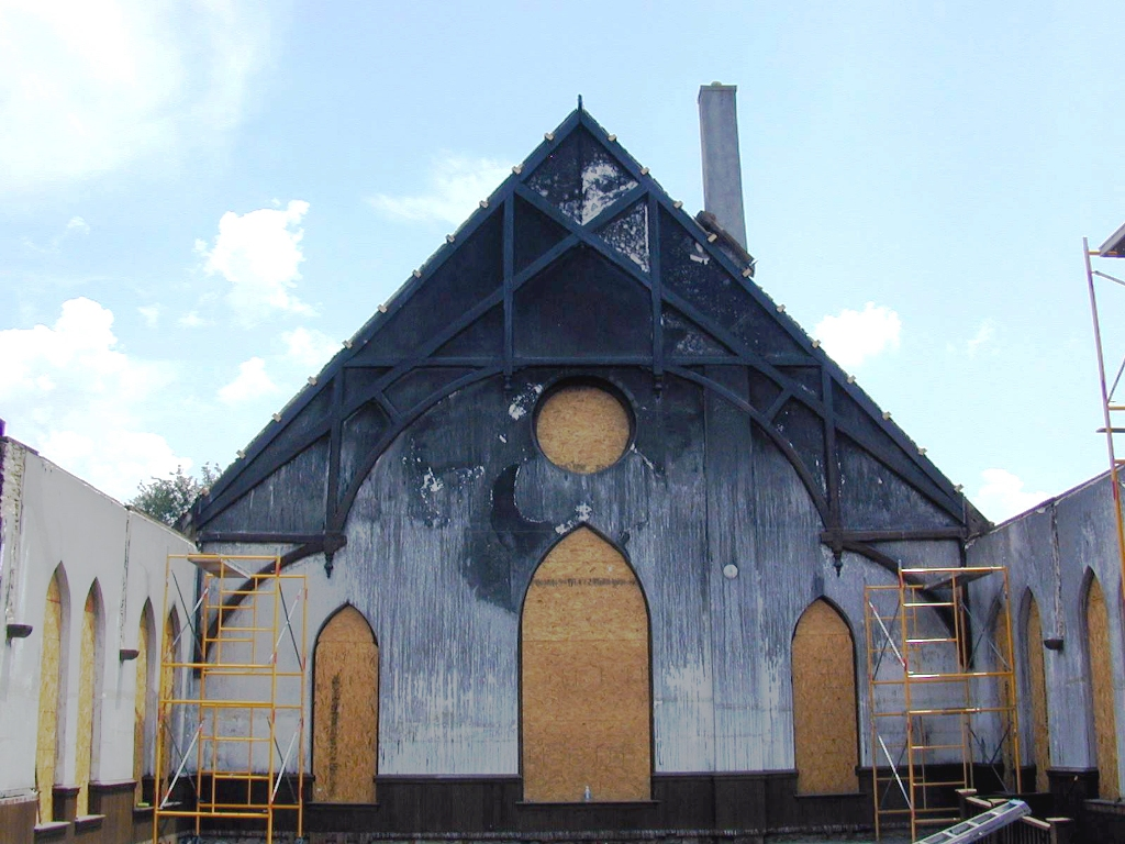 Fire Damaged Church