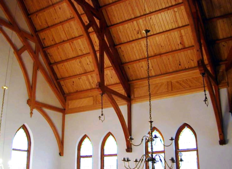 how to make arched beams