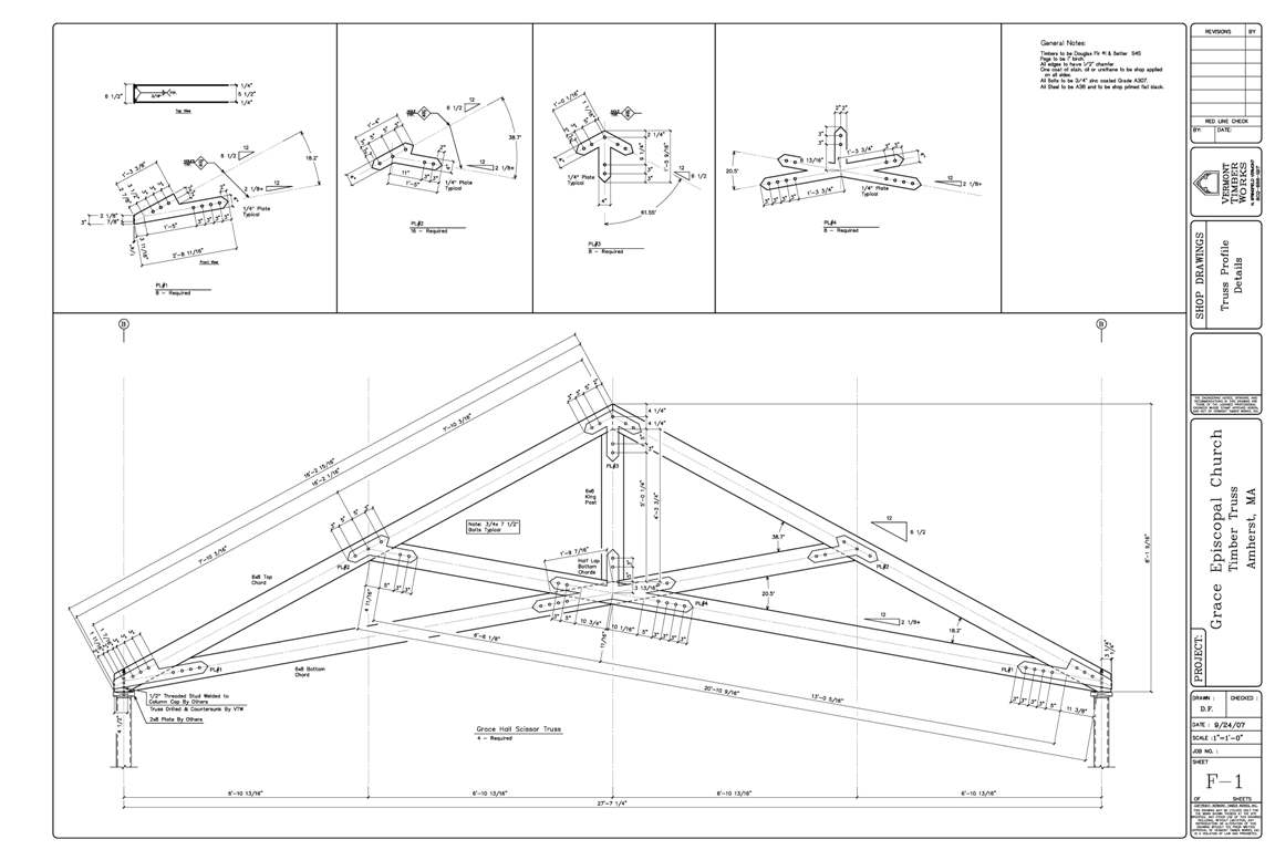 Scissor roof design scissortruss sc 1 st timberlake for Truss plan