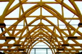 Arched Trusses with Steel Tied Rods