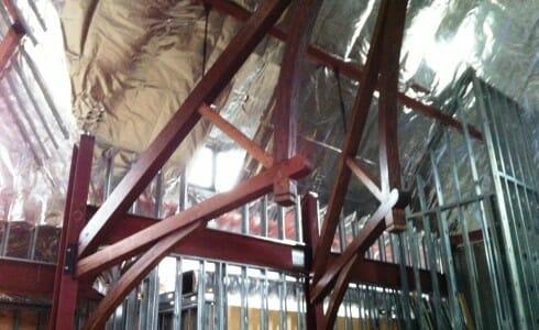 Douglass Fir Timber Frame Bracket