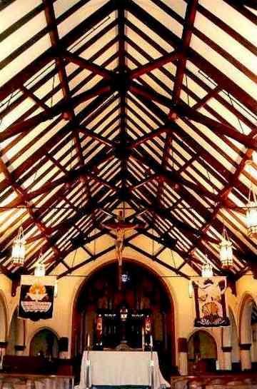 Saint Catherine Heavy Timber Church Post Amp Beam Scissor