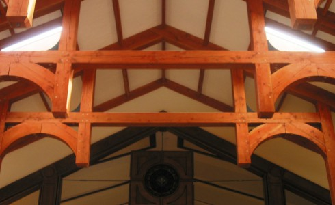 Timber Church Beams