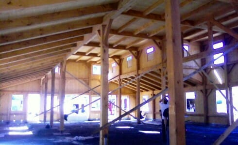 Wood Ceiling Beams